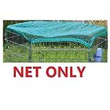 Red para jaula VivaPet pequeño para conejos/cobayas (34 cm cada lado, 8 lados, octagonal)