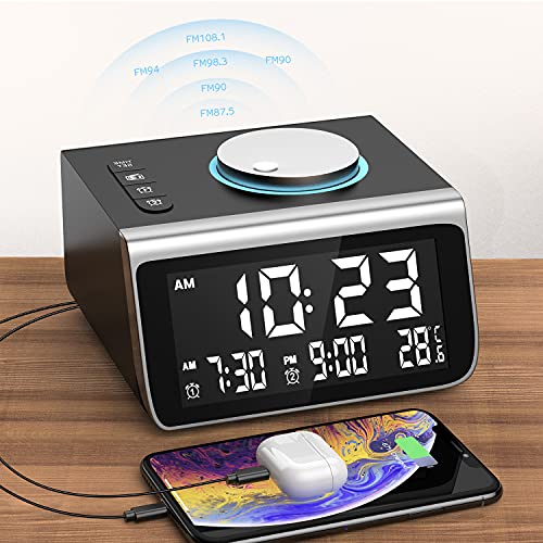 Dekala Alarm Clock Radio Alarm Clock for...