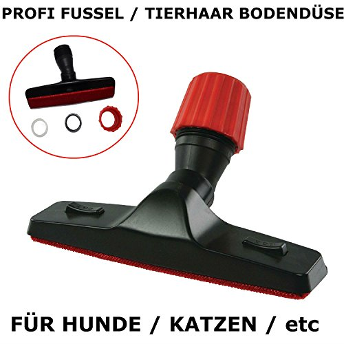 Eurosell - Profi Tier Haar Bodendüse Bodenteil für Staubsauger Tierhaar Sauger Adapter (Profi Tierhaardüse 30-37 mm)
