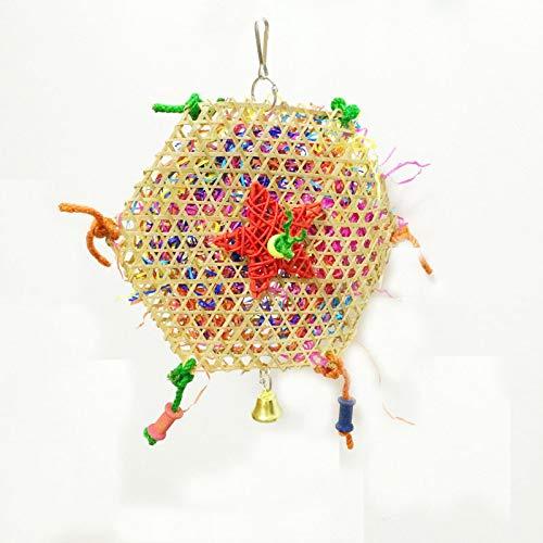 Yowablo Interaktive Hundespielzeug welpen Molar Biss Pet Hundezahnbürste Zahnbürste Katzen Hund Spielzeug Ball Haustier Spielzeug Quietschspielzeug Hundespielball (20 * 35cm,B)