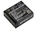 TECHTEK batería sustituye BR-01, para PG1050, para S009, para SJ4000B Compatible con [MYPHONE] Active Sport FHD, para [SJCAM] DX 288812, DX 288813, M10, SJ4000, SJ5000, SJ5000 WiFi, SJ5000X, Sports C
