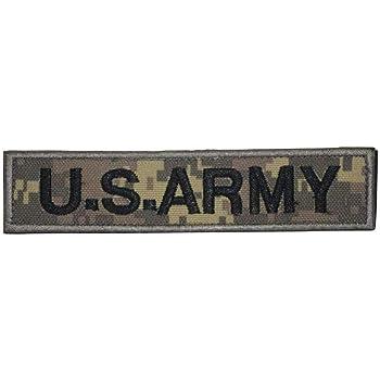 Cobra Tactical Solutions US Army Digital Woodland Camo Parche Bordado Táctico Militar Cinta de Gancho y Lazo de Airsoft Paintball Para Ropa de Mochila Táctica: Amazon.es: Hogar
