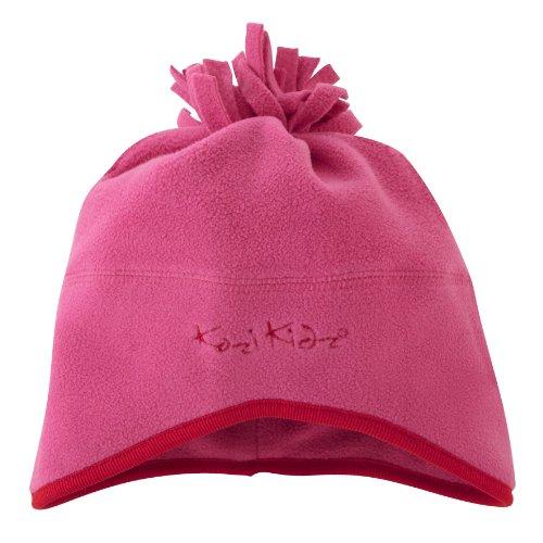 Kozi Kidz - Cappello in Micropile, da Bambini, Rosa (Rosso), Piccola/Media