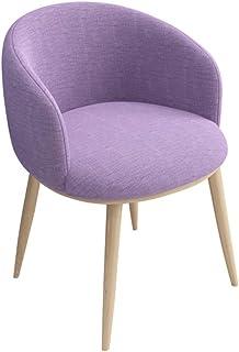 Sillas de cocina, sillones, sillas de comedor, metal siglo modernos Mediados silla de comedor, un paño de tela, for cocina, comedor, dormitorio, sala de estar, estable y duradera - 11 colores disponib