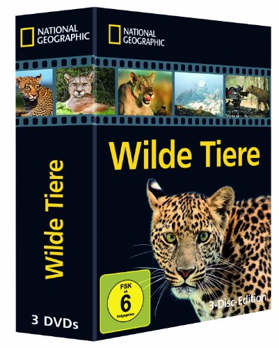 National Geographic - Wilde Tiere [3 DVDs]