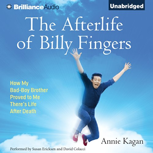 Page de couverture de The Afterlife of Billy Fingers