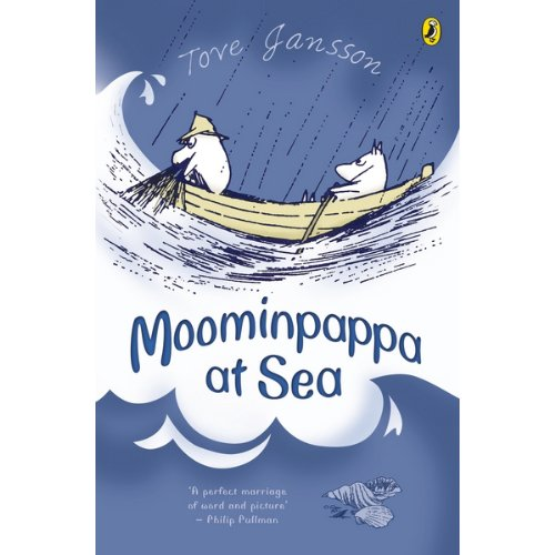 Moominpappa at Sea audiobook cover art