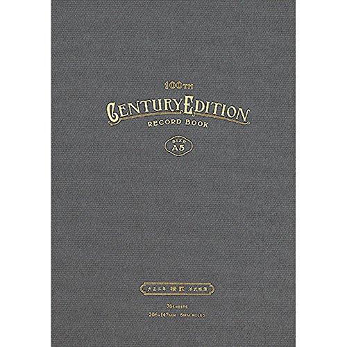 コクヨ ノート 装丁ノート RECORD BOOK Century EditioN 鼠色 HG-C100B-M