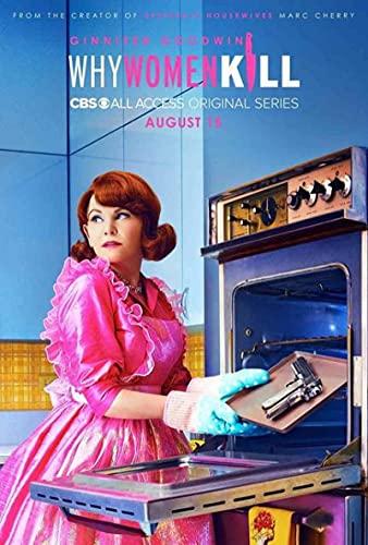 SIGNLEADER Quadro su Tela Serie TV Popolare Commedia poliziesca Americana 60X90CM