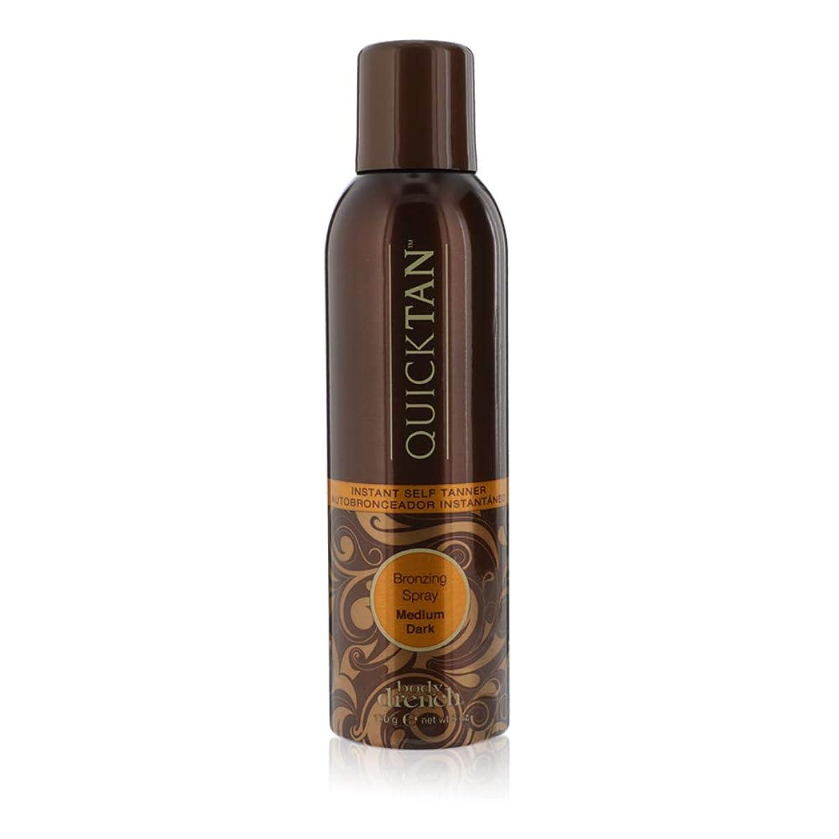 配管楽観的たっぷりBODY DRENCH Quick Tan Bronzing Spray - Medium Dark