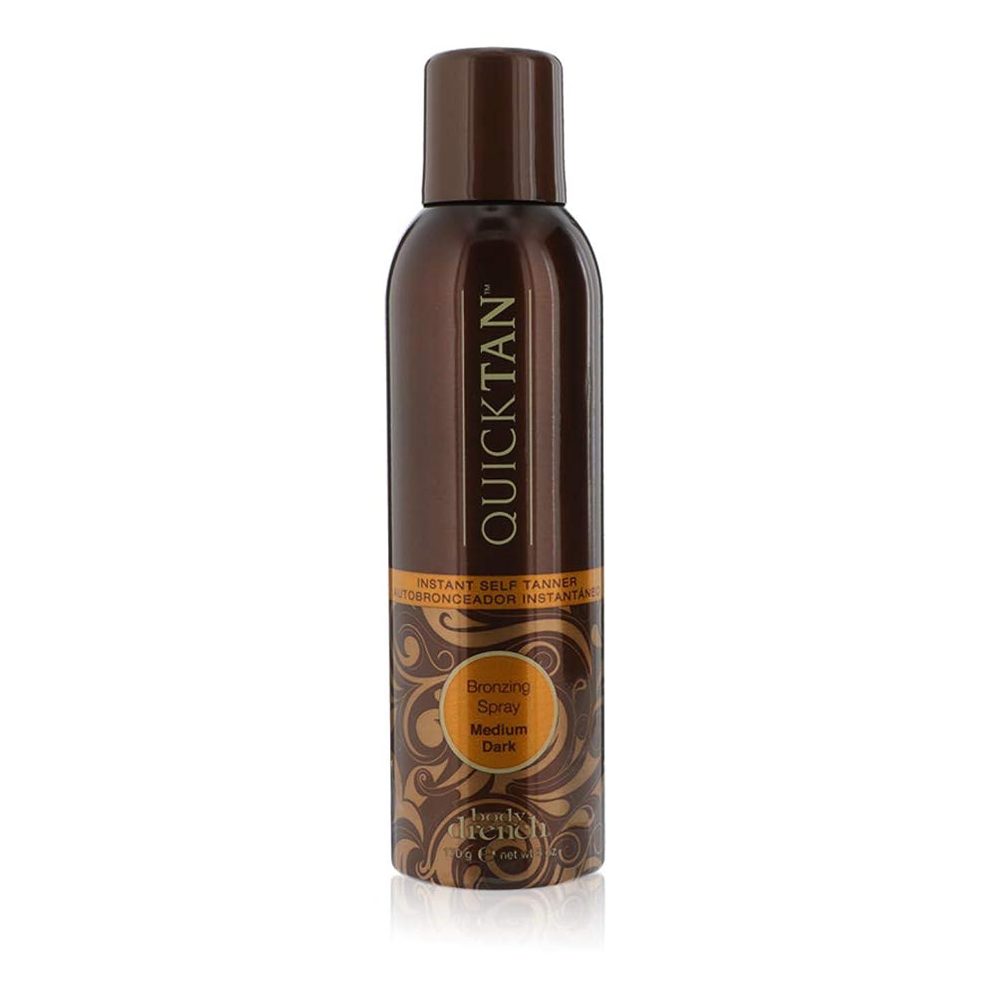 添加剤サークル不明瞭BODY DRENCH Quick Tan Bronzing Spray - Medium Dark