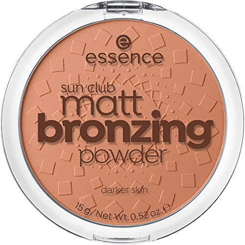 essence - Bronzer - sun club matt bronzing powder - 02 sunny