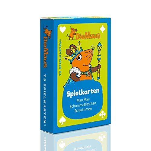 Die Maus Kinderspielkarten - Mau Mau, Schummellieschen uvm. Sendung mit der Maus, DieMaus WDR, Kartenspiel für Kinder