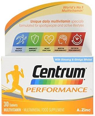Centrum Performance Multivitamin Tablets, Pack of 30