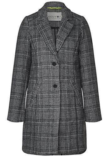 Cecil Damen 100498 Mantel, Black, X-Large (Herstellergröße:XL)