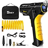 SKEY Tire Inflator Air Compressor - 150PSI Cordless Portable Air...
