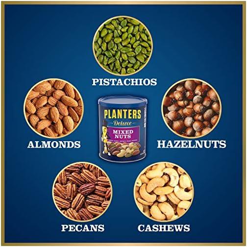 Planters Deluxe Pistachio Mix, 18.5 oz. Resealable Container | Pistachio Lover's Mix: Pistachios, Almonds & Cashews… 4