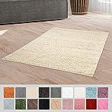 Taracarpet Hochflor Langflor Shaggy Teppich geeignet für Wohnzimmer Kinderzimmer und