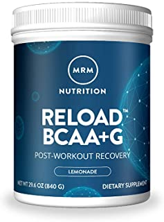 MRM BCAA+G Reload Post-Workout Recovery – Lemon, 840g - 60 Servings Per Container