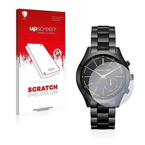 upscreen Schutzfolie kompatibel mit Michael Kors Access Slim Runway (42 mm) – Kristallklar, Kratzschutz, Anti-Fingerprint
