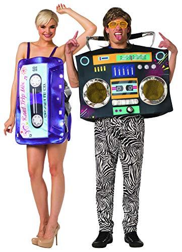 Rasta Imposta Couples Retro Mix Tape & Boom Box...
