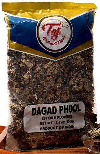 TAJ Premium Indian Dagad Phool, Stone Flower, 3.5-Ounce