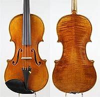 バイオリンセット 手作りバイオリンは60年間自然に乾燥させ、ピュアスプルースプロのバイオリン4/4