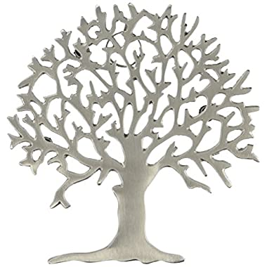 Old Dutch Satin Nickel Tree Trivet