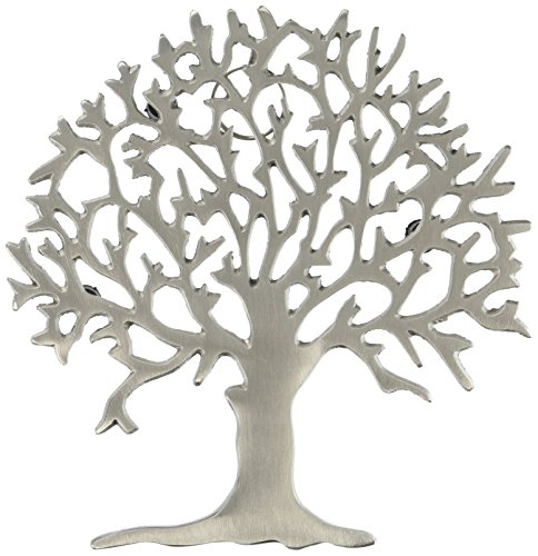 Old Dutch Satin Nickel Tree Trivet