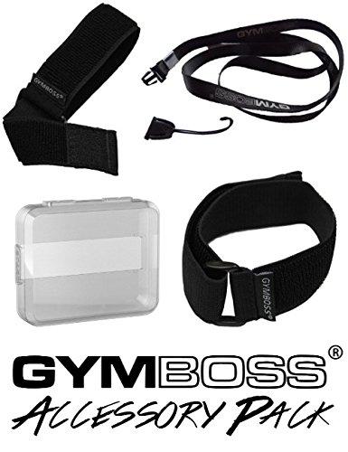 Gymboss Produktbündel: Zubehör Intervalltimer und Stoppuhr
