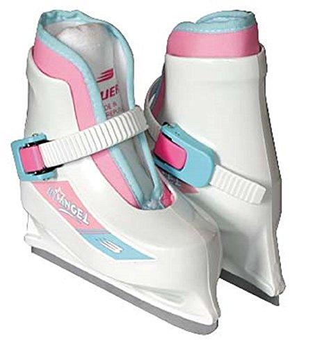 Bauer Lil Angel White Ice Skates Children Size 6-7