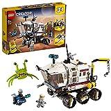 LEGO Creator Vehicles Creator 3en1 Róver Explorador, Base y Transbordador Set, Juguete de Construcción Nave Espacial, multicolor (Lego ES 31107)
