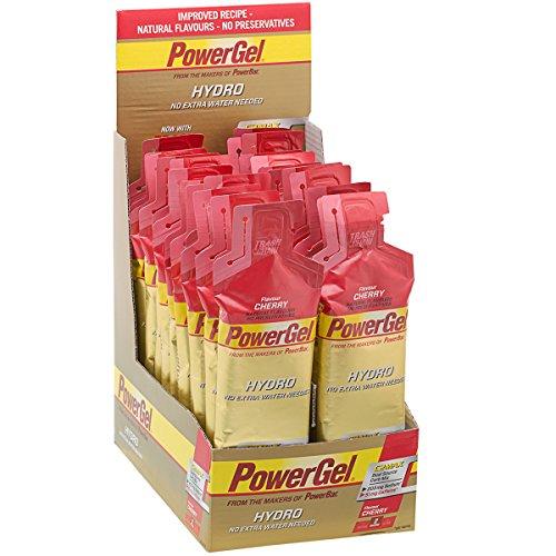 Powerbar PowerGel Hydro con Cafeína, sabor Cereza - 24 Unidades