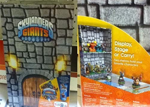 Skylander Giants Castle Display Case Libre Elusive Rare Wham Shell With Purchase by Prannoi