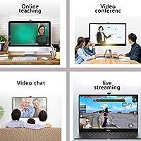 マイクを使ってUSBウェブカメラ、PC、MAC、ラップトップ、プラグのための1080P HDストリーミングウェブカメラやYouTube、ビデオのためのプレイWebカメラ回転式クリップでゲーム、、呼び出し、会議を学びます,C