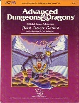 Dark Clouds Gather (Advanced Dungeons & Dragons Module UK7) - Book  of the Advanced Dungeons and Dragons Module #C4