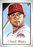 2019 Topps Gallery #118 David Fletcher Los Angeles Angels Rookie Baseball Card. rookie card picture