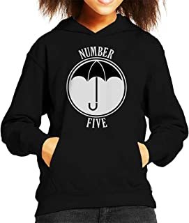 Cloud City 7 Umbrella Academy Number Five Kid's Hooded Sweatshirt
