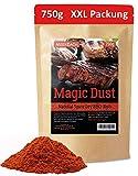 Magic Dust BBQ Rub • Gewürzmischung zum Grillen und Marinieren von Fleisch • Spitzenqualität aus Deutschland • 750g in der XXL Vorratspackung