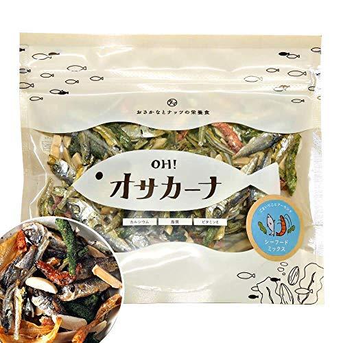 OH!オサカーナ100g(シーフードミックス)小魚 アーモンド #元気いただきますプロジェクト