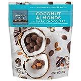 Edward Marc Chocolatier Coconut Almonds with Dark Chocolate Natural, Sustainably Sourced - 32 oz.