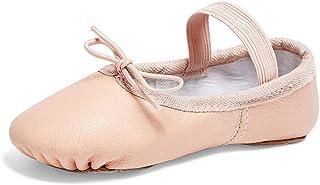 STELLE Premium Authentic Leather Ballet Slipper/Ballet Shoes(Toddler/Little Kid/Big Kid)