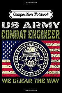 Composition Notebook: Combat Engineer For US Army Sappers Premium  Journal/Notebook Blank Lined Ruled 6x9 100 Pages
