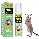 Toulifly Repelente Ratones,Spray Repelente de Ratones,Trampas para Ratones,Trampas para Ratas,Ahuyentador de Roedores,para Coche,Camión,Garaje