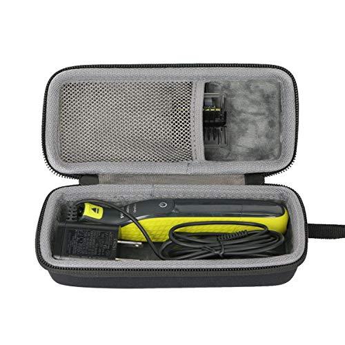Duro Viajar Caso Cubrir para Philips OneBlade QP2530/30 QP2530/20 Recortador de barba por co2CREA (black)