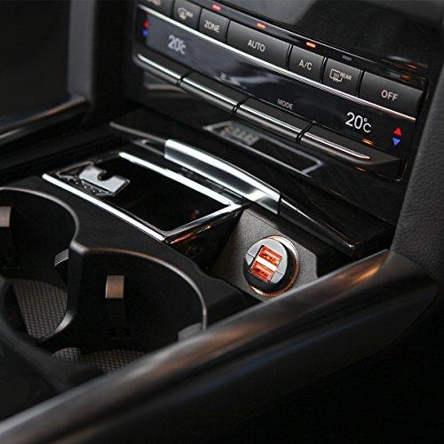 『WY 2ポートUSB車載充電器 [iPhone6s/6s Plus対応] 各社スマホ・iPadの車内充電 カーチャージャー 2.0A出力 小型 WY-CAR001』の5枚目の画像