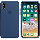 AIWE Newest Coque iPhone X/10 Coque Silicone Liquide Ultra-Mince Anti-Rayure, Housse Protection Silicone Anti-Patinage Gel...