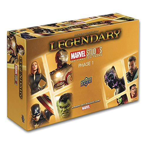 Legendary: A Marvel Deck Building Game: MCU 10th Anniversary image