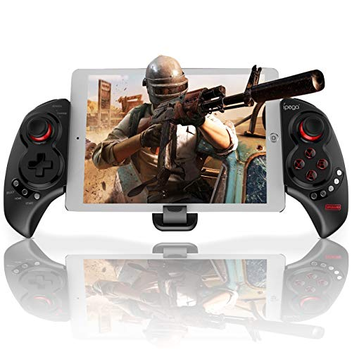 Megadream Drahtloser Android Game Controller für PUBG Fotnite, Game Controller Tablet, Key Mapping Gamepad Joystick für Samsung, HTC, LG, Google Pixel usw.