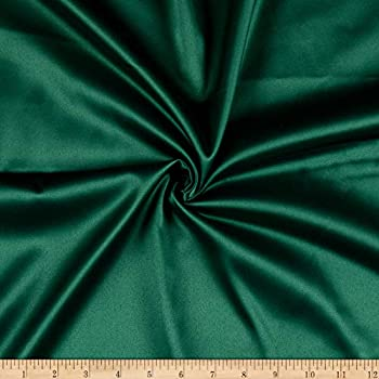 Ben Textiles Stretch L Amour Satin Fabric Green Fabric By The Yard